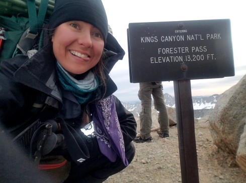 Highest point on the PCT!